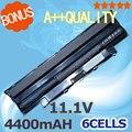4400 mah 6 celdas de batería portátil para dell inspiron n5010 13r n3010d n4010d n4010 14r 4010 14rd