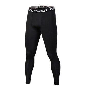 Calzamaglie Skinny Ghette Uomini Fitness Elastico Pantaloni Maschili 1