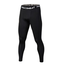 New Summer Thermal Casual Pants Men Brand Compression Tights Skinny Leggings