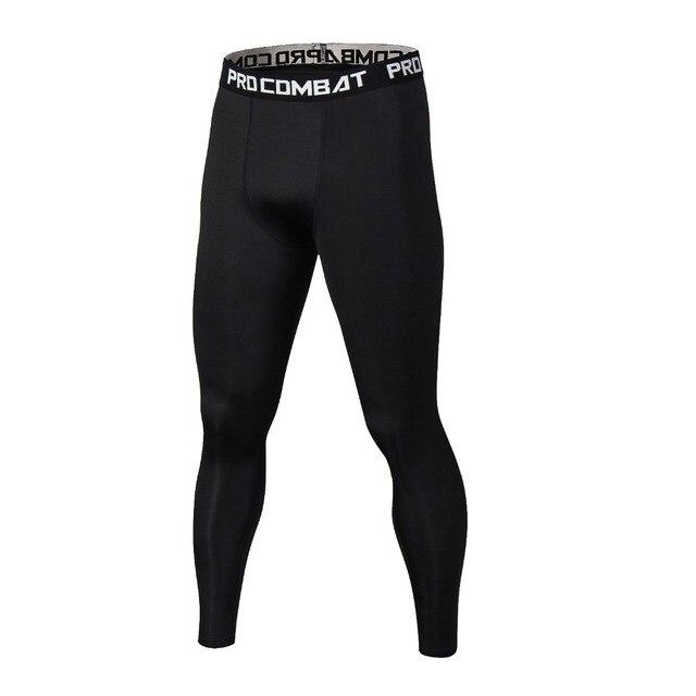 Novo Verão Calça Casual Térmicas Homens Marca Compressão Calças Justas Leggings Moda Masculina Elástico Crossfit Aptidão Calças Masculinas