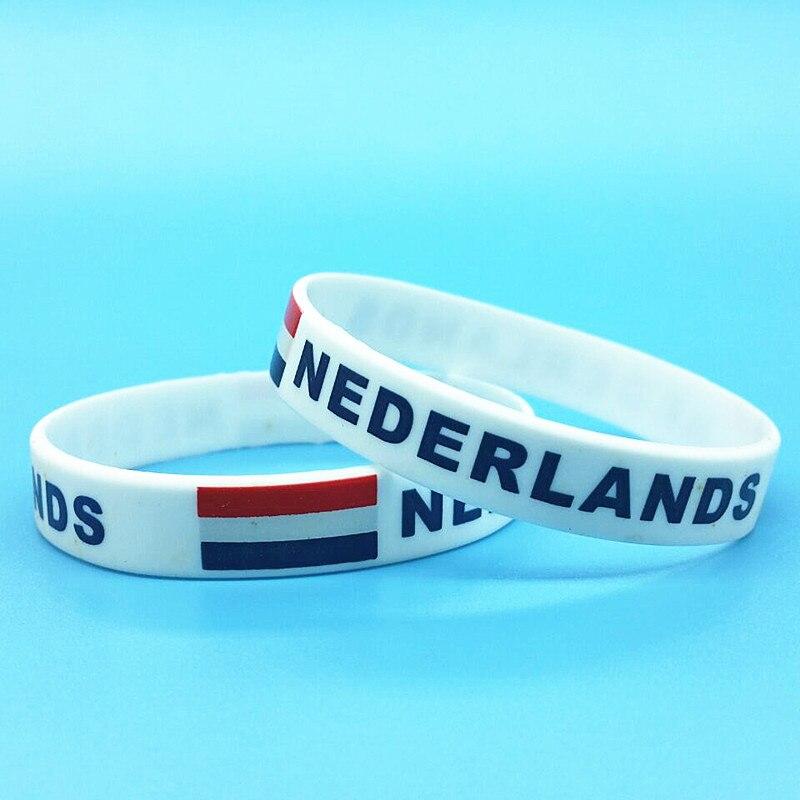 2pcs Nederlands Flag Rubber...