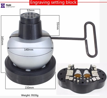 10kg Engraver Round Balls Jewelry Making Tools Engraving Block Ball Setting Vice For Diamond setting