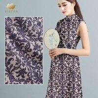 18mm digital inkjet silk crepe de chine fabric soft shirt dress crepe fabric 100 silk fabric wholesale silk cloth