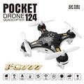Мини-Kvadrokopter fq777 124 Дрон 4CH 6 Оси Гироскопа С Отключаемым контроллер RTF НЛО Вертолет мини drone Toys for kids подарок