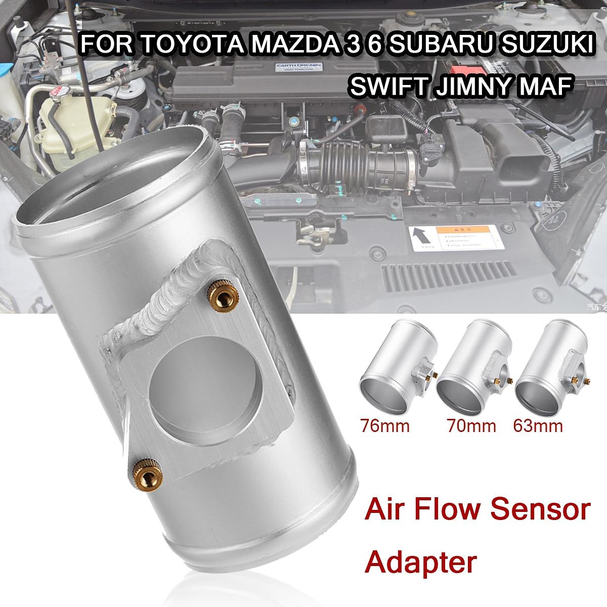 63/70/76mm Car Air Flow Sensor Adapter Performance Air Intake Meter Mount for Toyota/Mazda 3 6 for Subaru/Suzuki Swift
