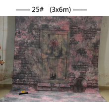 10x20ft Hand painted Studio Shooting Muslin Photography Background 25,Fantasy wooden door backdrops,camera wedding photography