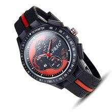 Automatique étanche armée militaire Montre Coréenne Hommes quartz grand cadran Sport montre-bracelet top qualité homme horloge vintage montre de plongée