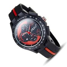 Automatic waterproof army military Watch Korean Men quartz big dial Sport wristwatch top quality man clock