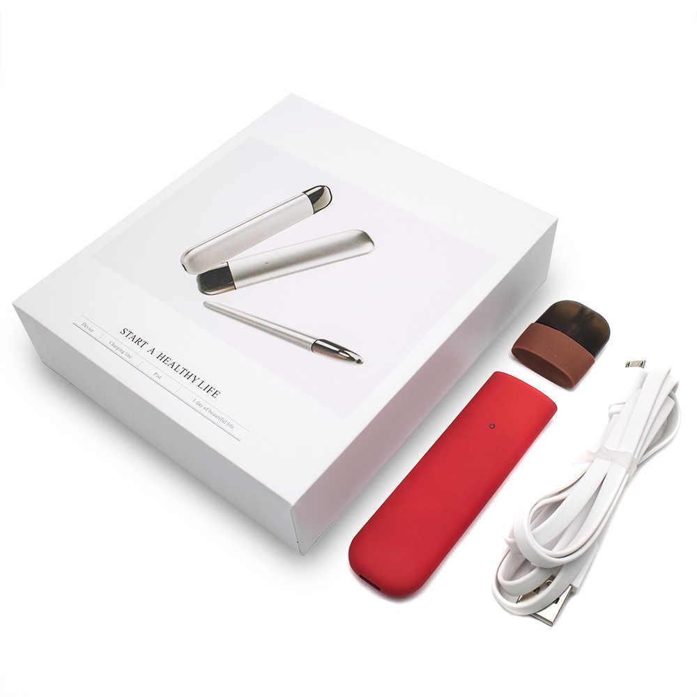 Electronic Cigarette K9 POD Starter Kit 350mah with 1.5ml Cartridge All-in-One Vape Pen E-CIG POD Kit