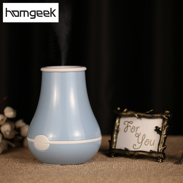 Homgeek Cute Design Aromatherapy Air Humidifier Fogger Blue Green Pink Aroma Diffuser Aroma Mist Maker Diffuser for Home Office