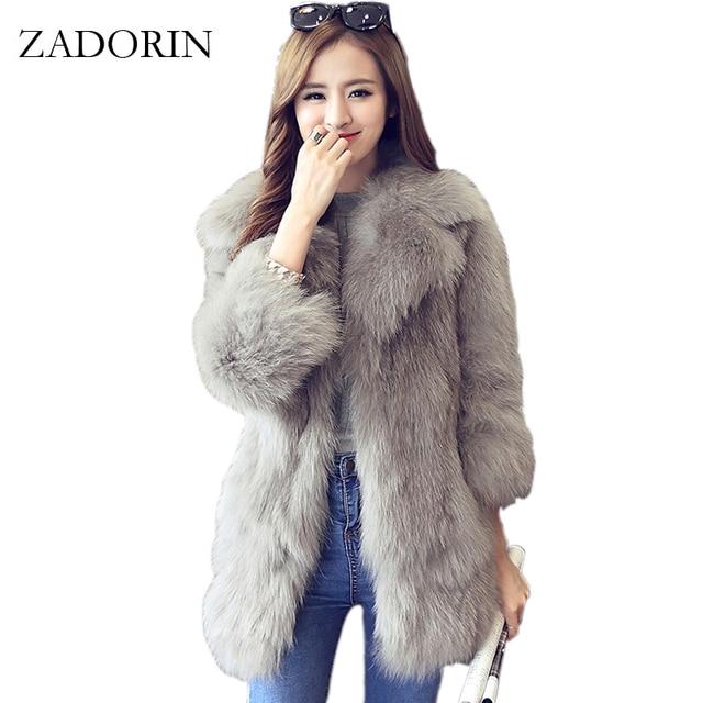 aa0b9a5c102 New Korean Style Fashion Autumn Winter Faux Fur Coats With Belt Women Slim White  Fur Coat Female jacket faux fur gilet fourrure