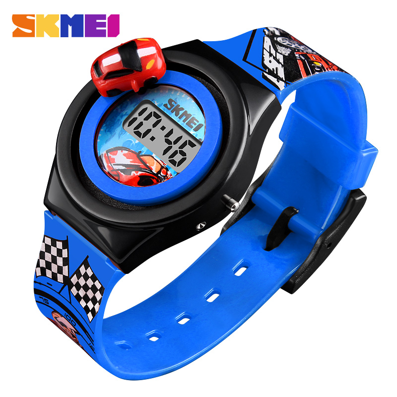Skmei Children Digital Watch Cartoon Sport Colorful Kids Girl Child Watches Fashion Electronic Wristwatches For Boys Girls