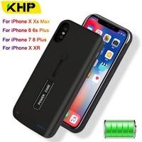 856cd789705 Battery Charger Case For IPhone 6 6s 7 8 Plus 3500mAh 4000mAh 5000mAh  Powerbank Case For. Caso Carregador de bateria ...