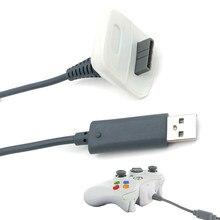 สายชาร์จUSBคุณภาพสูงสำหรับXBOX 360 DC 5V 1.46M USB Playชาร์จไฟสายไฟสำหรับwireless 360 Wireless Controller