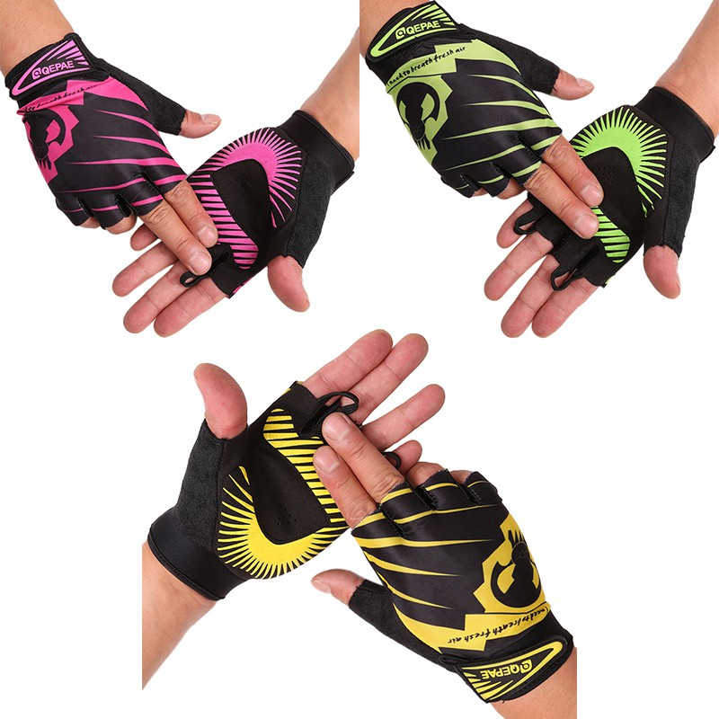 Colored Cool Riding Gloves Cycling bike fitness gloves Full Finger Bicycle Cycling Motorcycle Gloves