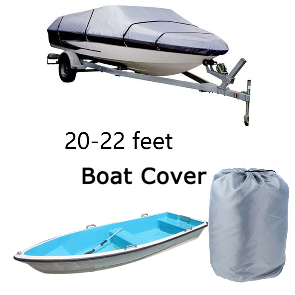 Hot Sell Boat coverFishing boat cover speedboat cover boat cover Trailerable Fish Ski V-Hull Weather Proof UV Snow Protected