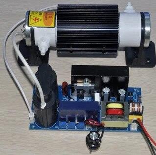 FREE SHIPPING Ceramic tube 5G/H adjustable ozone generator Ozone machine fittings adjustable high voltage power supply