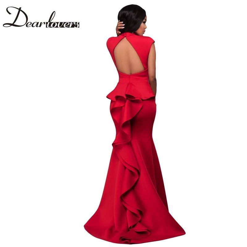 Dear Lover Women Formal Party ᗑ Dresses Dresses 2017 Red ヾ