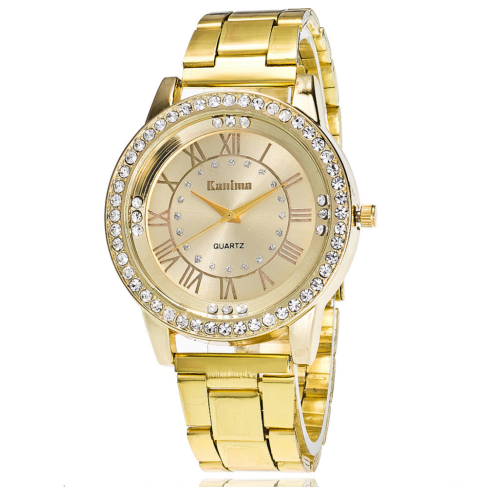 2e8b23bb3ae91 2016 Fashion Women Gold Watch Luxury Stainless Steel Watches Casual Quartz  Watches Relogios Femininos Gift Clock 2011