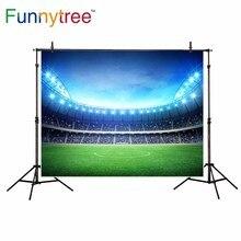 Funnytree backdrop para estúdio fotográfico fundo grama de campo de futebol esporte de competição profissional photocall photobooth