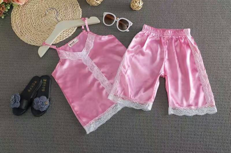 Online Buy Wholesale kids satin pajamas from China kids satin ...