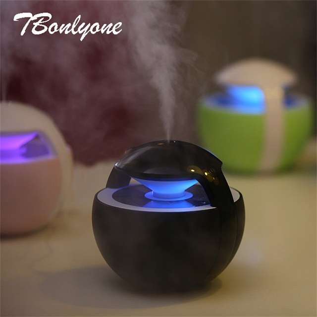 TBonlyone 450ML Mini Ball Humidifier For Baby Home Office Essential Oil Diffuser Air Aroma Diffuser Ultrasonic Air Humidifier 2