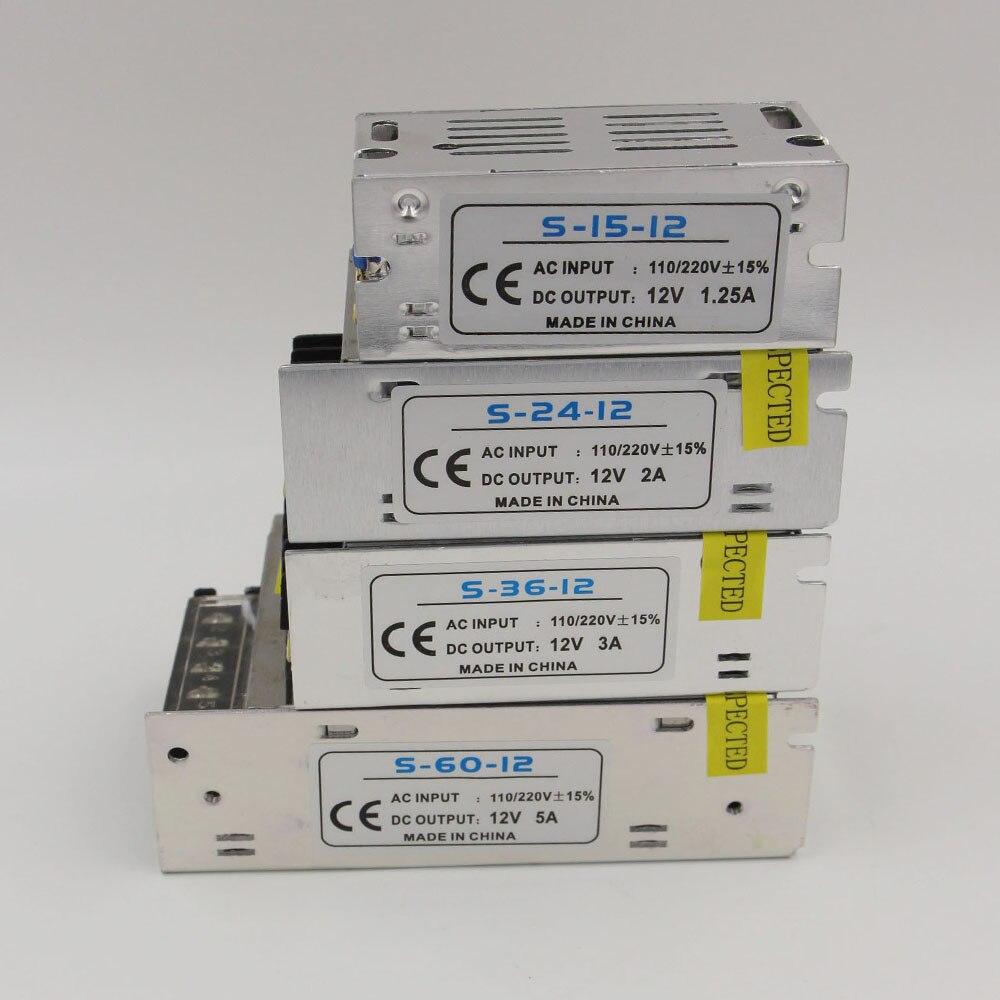 AC 85-265V to DC12V LED Lighting Transformer 220v 12v s