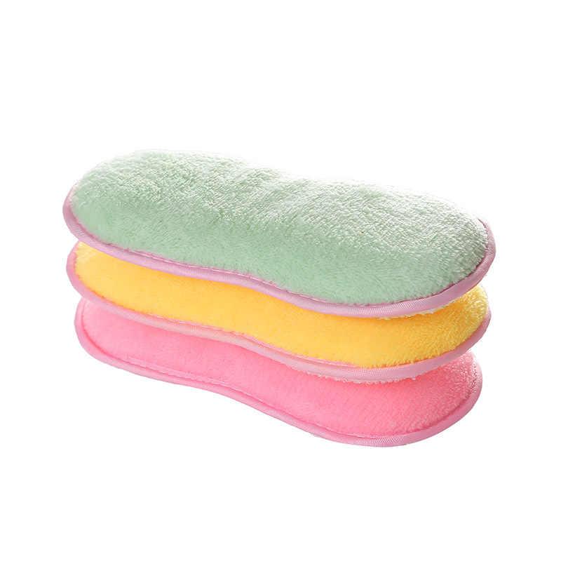 Luluhut 3 pcs için Çift yan Temizleme fırçası mikrofiber bez sihirli süngerleri yıkama yemekleri melamin sünger Temizlik için mutfak