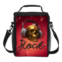 VEEVANV New Arrival Printing Insulated Lunch Box For Kids Skull Lunch Bags For Women Space Bolsa Termica Lunchbox Big Ice Pack