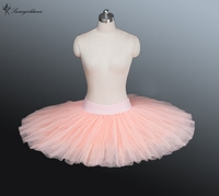 High Quality Adult Child Cinnamon Half Ballet Tutu Light Beige Pink Half Ballet Tutu For
