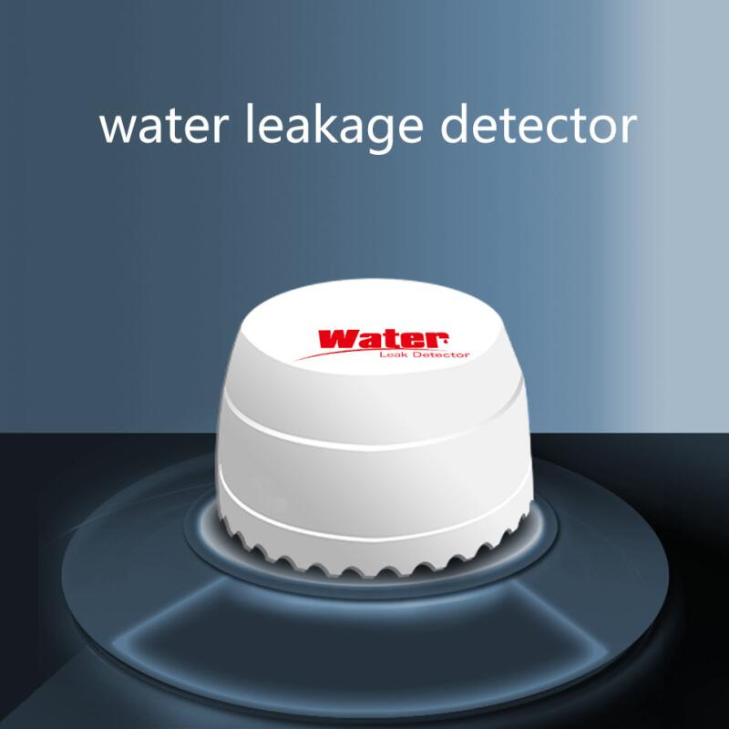 bilder für Neue Design wasserlecksuchgerät, wasser sensor, drahtlose überschwemmungen sensor für die meisten 433 MHZ 315 MHZ Hause alarmanlagen