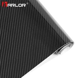 Estilo do carro 200mm x 1520mm 5d fibra de carbono vinil filme alta brilhante warp motocicleta adesivos carro acessórios automóveis à prova dwaterproof água