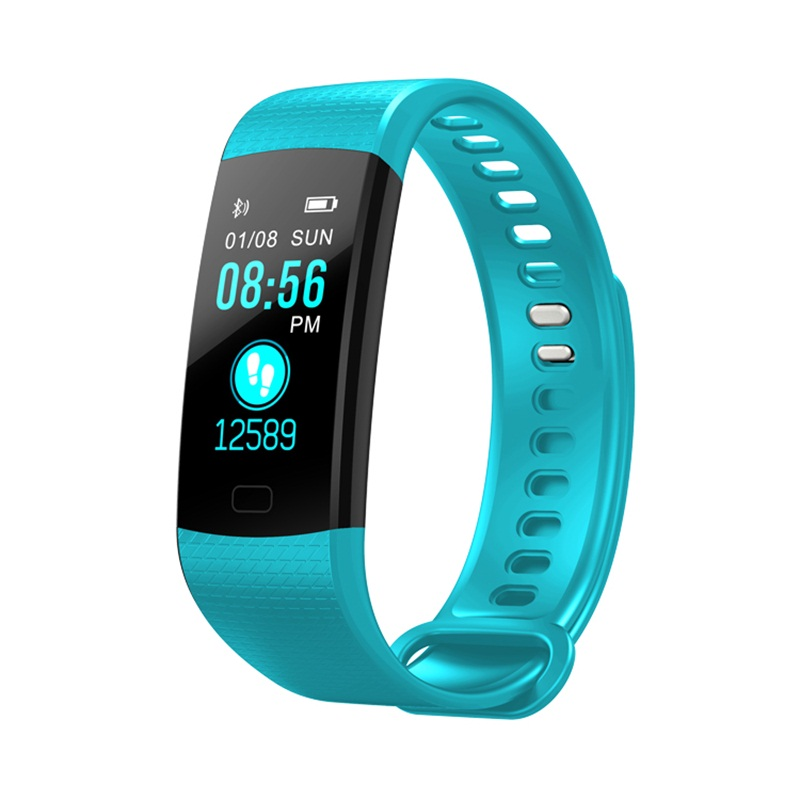 EnohpLX Y5 Color Screen Wristband Watch Smart Electronics Bracelet Waterproof Heart Rate Activity Fitness VS for Xiaomi Miband 2