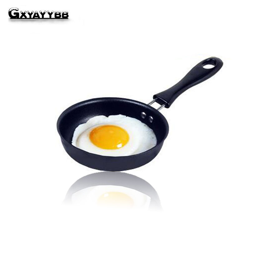 GXYAYYBB 1 Pcs 12 Cm Frying Pan Cast Iron Non-Stick Omelette Breakfast Pan Mini Egg Frying Pan Cooking Tool Sartenes Cookware