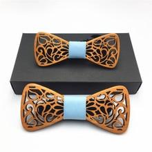 Деревянный Для мужчин бабочка-бабочка деревянный лук для вечерние рубашки одежда галстуки-бабочки», «Папа и сын», комплект галстук-бабочка Специальный галстук-бабочка