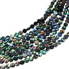 20Pcs/Pack 6-14MM Colorful Natural Abalone Sea Shell Beads for female Making DIY Bracelets Necklaces Fashion Jewelry Finding Hot