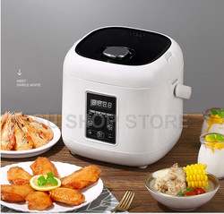 2L mini rice cooker small Steamer Multifunction cooking Pot Electric insulation heating cooker 1-2 people