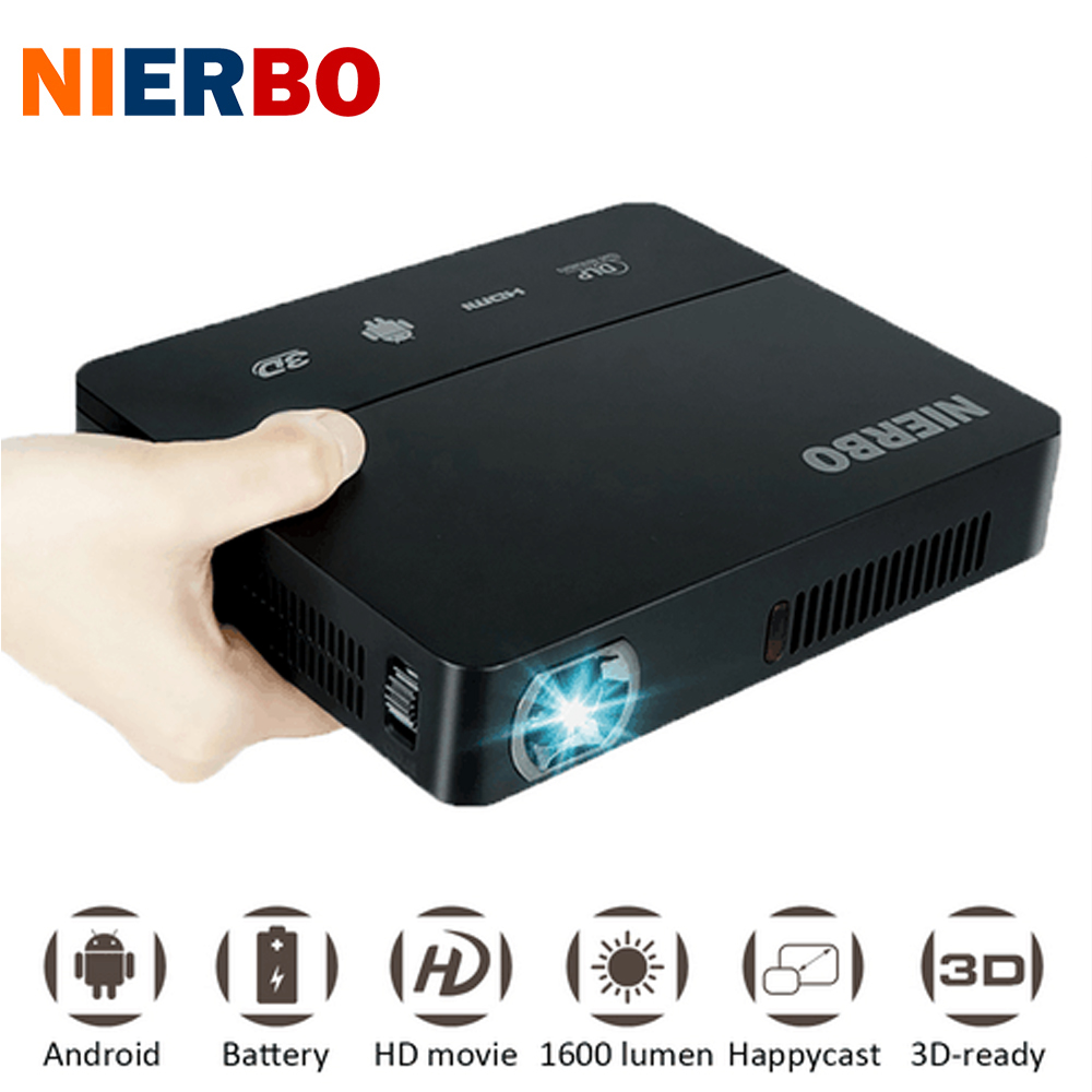 Nierbo mini 3d projector led full hd projector 1080p video for Hd video projector