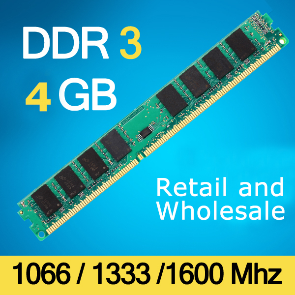 Branded Sealed DDR3 2GB 1066Mhz / 1333Mhz 1600Mhz Memoria Ram DDR 3 DIMM 240-pins For desktop Lifetime Warranty