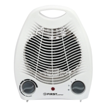 Тепловентилятор FIRST FA-5568-2 White (Мощность 2000 Вт, 3 режима работы, защита от перегрева, термостат, площадь обогрева 25м?)