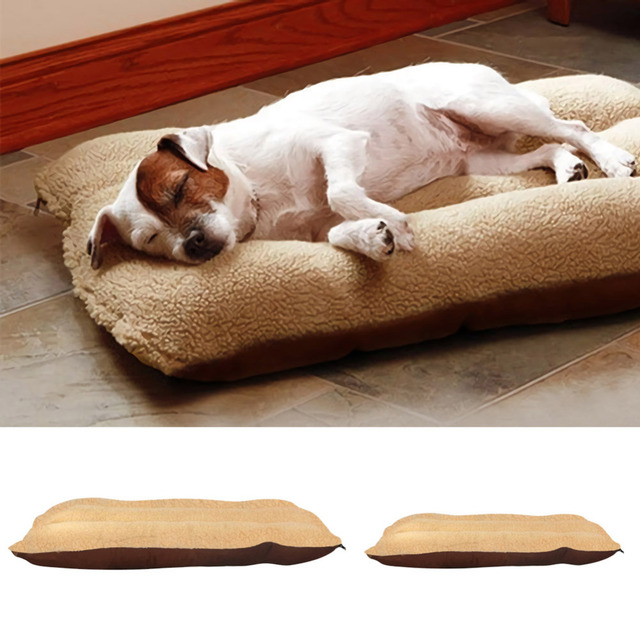 Winter Dog Bed Mat Thicken Pet Cushion Blanket Warm Puppy Cat Fleece Beds For Small Large Dogs Cats Pad 1