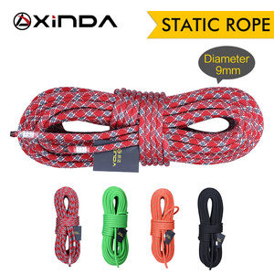 Image 3 - XINDA Camping Rock Climbing Rope 9mm Static Rope 21kN High Strength Safety Rope For Working at Height Climbing Equipment