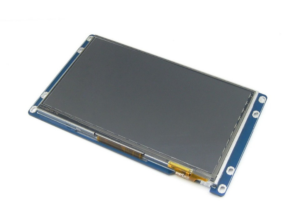 ФОТО 7inch Capacitive Touch LCD 800*480 Multolor Graph LCD TFT TTL Screen Display Module with Stand-alone Touch Controller