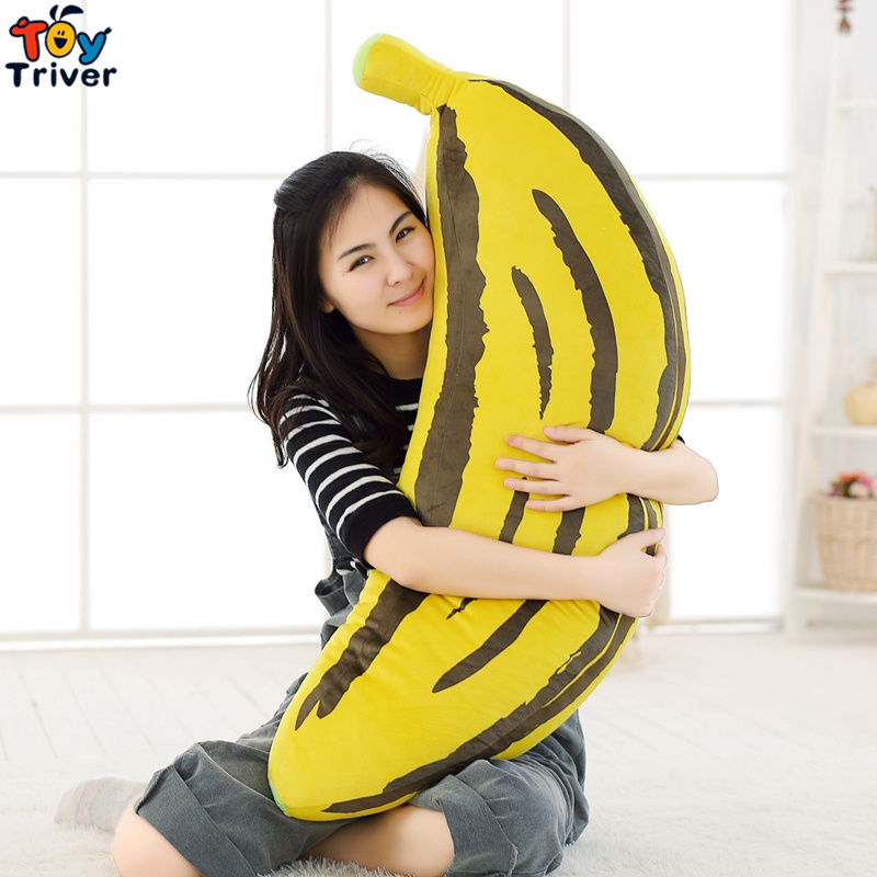 Dolls & Stuffed Toys 70/90cm Simulation Plush Banana Fruit Toy Long Pillow Stuffed Bolster Cushion Gift For Baby Children Kids Gift Home Shop Decor Making Things Convenient For The People Toys & Hobbies