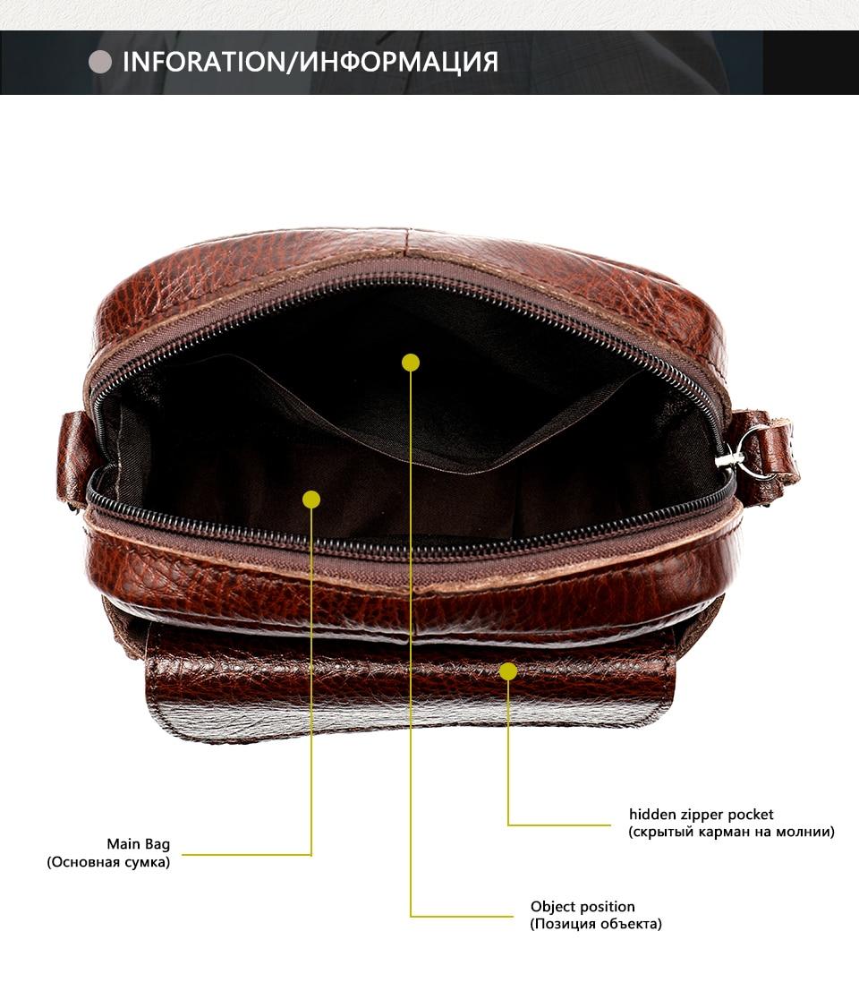 9 men shoulder bag