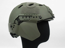 Tactical UP-ARMOR FAST HELMET RAIL 2 SIDE COVER Ear Protect Helmet Accessory Accessories