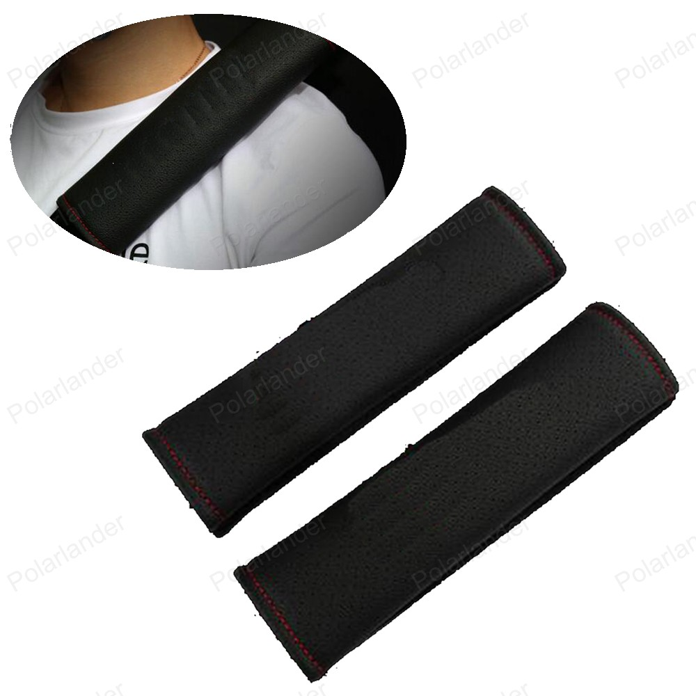 For Audi A4L A6L Q3 Q5 A3 Q7 Auto Safety belt cover Shoulder Protection car-styling Comfortable Cushion Harness Pad