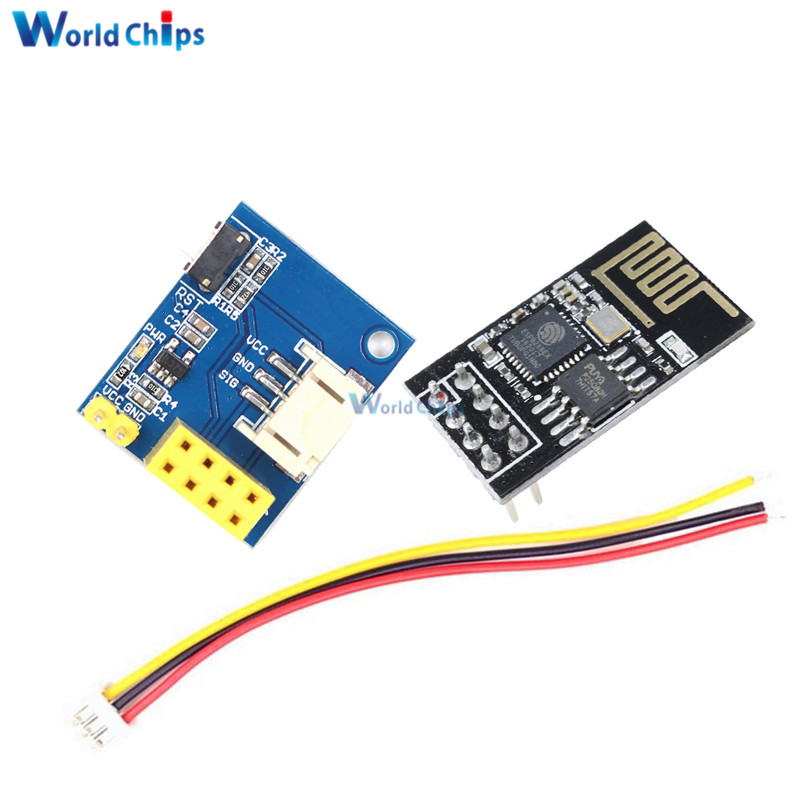 Active Components Liberal Esp8266 Esp-01 Esp-01s Ws2812 Rgb Led Controller Module For Arduino Ide Ws2812 Light Ring Smart Electronic Diy With Connector