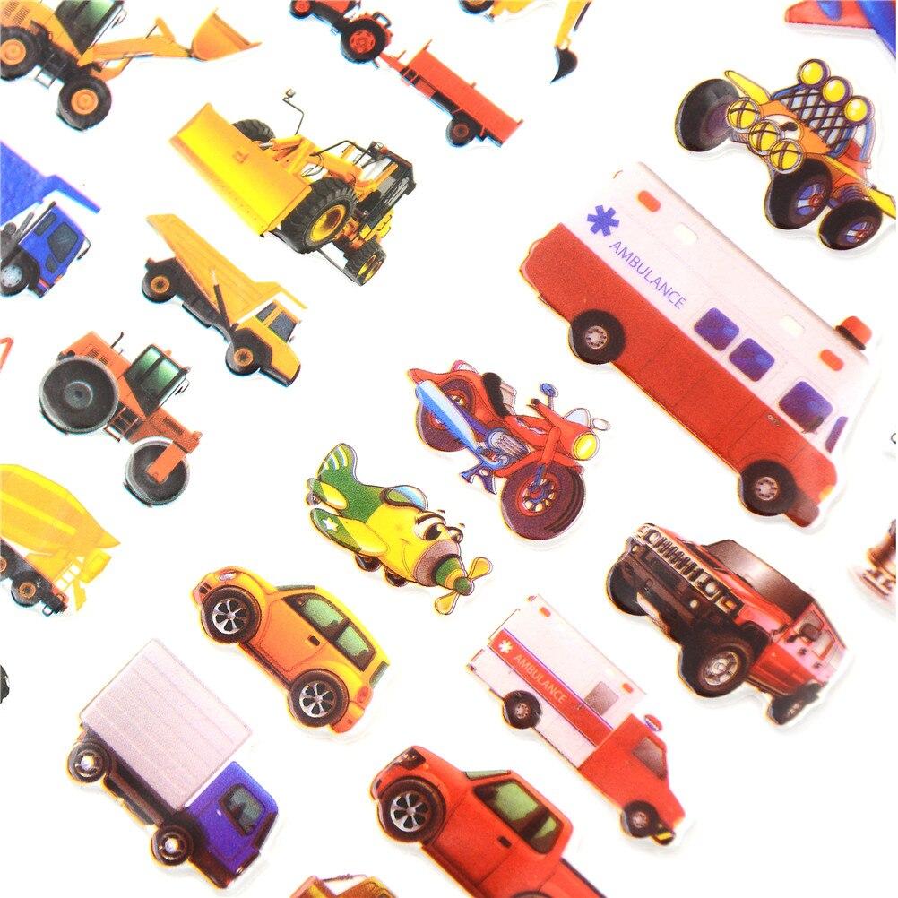 10//1 PC Bulle Stickers 3D Cartoon Kids classictoys School Autocollant Récompense X7D0