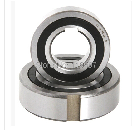 CSK17PP one way clutch bearing with keyway slot clutch backstop bearing 17 x 40 x 12 mm
